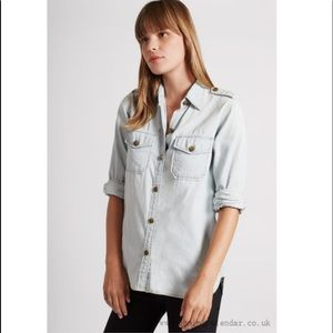 Current/Elliot The Perfect Shirt. Size Small. NWT.